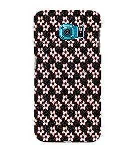 ifasho Designer Phone Back Case Cover Samsung Galaxy S6 G920I :: Samsung Galaxy S6 G9200 G9208 G9208/Ss G9209 G920A G920F G920Fd G920S G920T ( Royal Pattern and Design Flower )