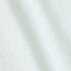French Terry Colors White Fabric By The YD by Press Textiles