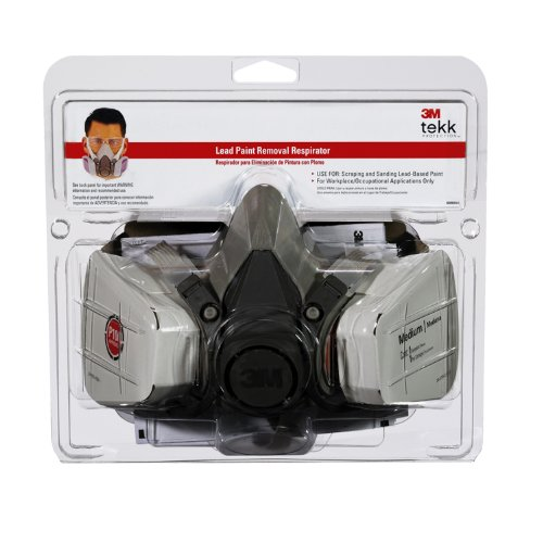 3M Tekk Lead Paint Removal Respirator