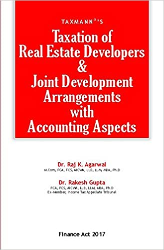 Taxation of Real Estate Developers & Joint Development Arrangements with Accounting