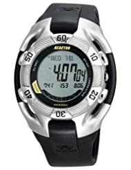 REACTOR Men's 70801 Heavy Water World Tide Digital Polyurethane Strap Watch