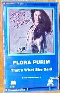 Flora Purim Thats What She Said
