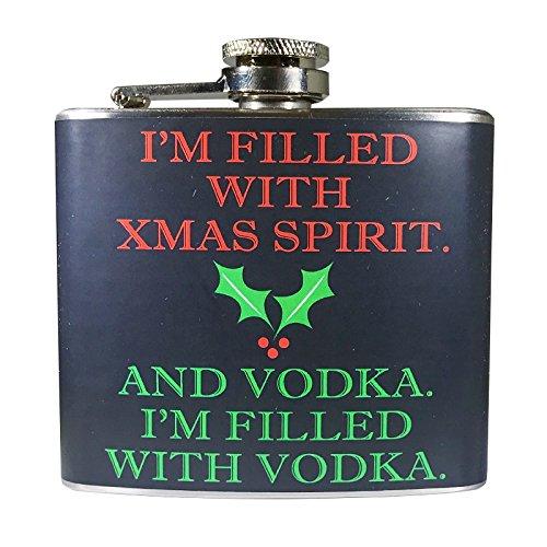 Ugly Christmas Flask