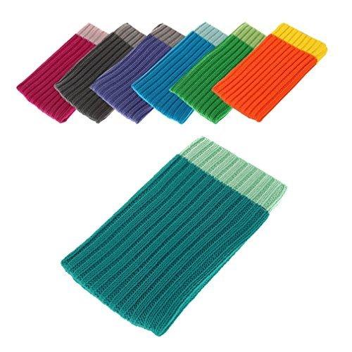 BRALEXX Textil Socke passend für Huawei Ascend G620s, Hellblau XL