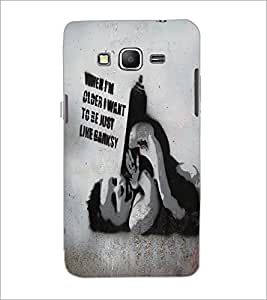 PrintDhaba Quote D-5438 Back Case Cover for SAMSUNG GALAXY GRAND PRIME (Multi-Coloured)