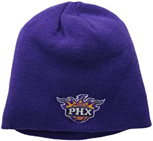 Phoenix Suns Purple Toque Skull Cap - NBA Cuffless Beanie Hat