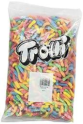 Trolli Gummi Candy, Sour Brite Crawlers, 5-Pound Bag