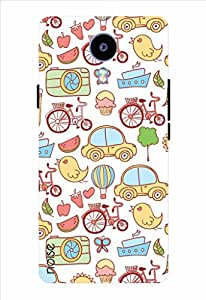 Meizu m2 Designer Printed Mobile Back Case Cover for Meizu M2 - By Noise