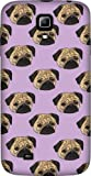 Disguised® 'Pug Life' Samsung Galaxy S4 ** Mini ** Case Cover by Katie Reed - 3D Full Wrap Design