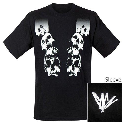 Chris Cornell - T-Shirt Faded Skull (in L)