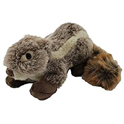 Fluff and Tuff Nuts the Squirrel Pet Toy, Large