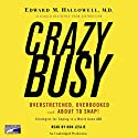 CrazyBusy Audiobook by Edward Hallowell Narrated by Don Leslie