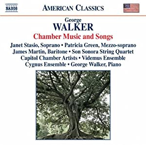 Walker Chamber Music Songs Various Chamber Vocal Works by NAXOS
