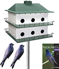 Purple Martin Bird House Plans One Multiple LevelsHeath  Room Two Story Purple Martin House Package