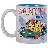 """Me! Zodiac """"Cancer"""" Coffee Mug(Painted Inside), 325ml"""