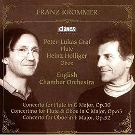 Concertino For Flute & Oboe In C Major, Op. 65: Allegro