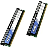 Corsair XMS2 DDR2 4GB (2x2GB) PC2-6400 800MHz 240-Pin Dual Channel Desktop Memory (TWIN2X4096-6400C5C)""