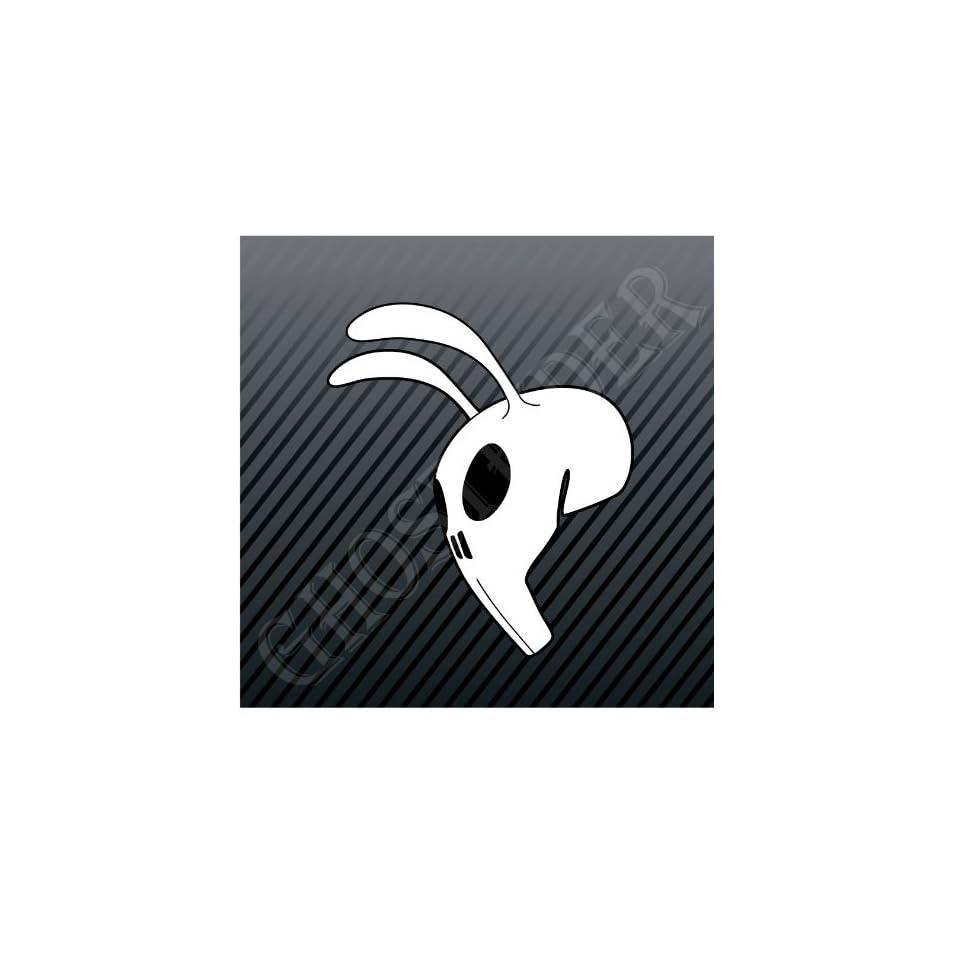 Punisher Rabbit Mask Skull Car Trucks Sticker Decal