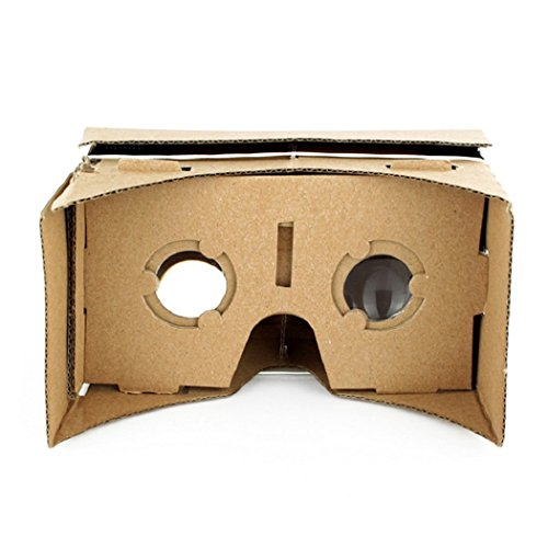 Sweetkisska DIY Ultra Clear Virtual Reality VR Mobile Phone Movie Game 3D Viewing Glasses
