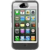 OtterBox Defender Series Case and Holster for iPhone 4/4S-Retail Packaging-White/Gray (Discontinued by Manufacturer)
