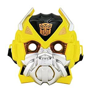 Tootpado Bumblebee Transformer LED Lights Mask Superhero Camouflage Face Cosplay Party