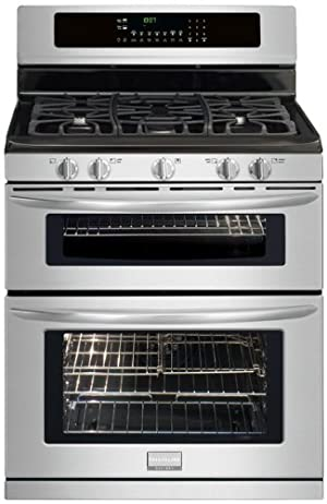 Frigidaire FGGF304DLF Gallery 30 Freestanding Gas Double Oven Range