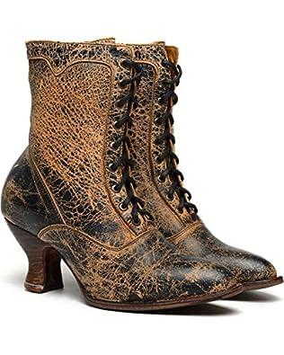 Oak Tree Farms Womens Elizabeth Ii Lux Boot $66.93 AT vintagedancer.com