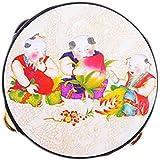 Traditional Tambourine Plastic Hand Drum For Kids(Tambourine)