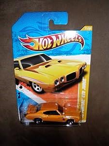 2011 HOT WHEELS NEW MODELS 11/244 YELLOW / ORANGE '70 PONTIAC GTO JUDGE 11/50