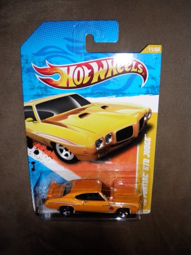 2011 HOT WHEELS NEW MODELS 11/244 YELLOW / ORANGE '70 PONTIAC GTO JUDGE 11/50