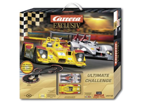 Carrera Analog Slot Car Ultimate Challenge Race Track Set - 1:24 Scale