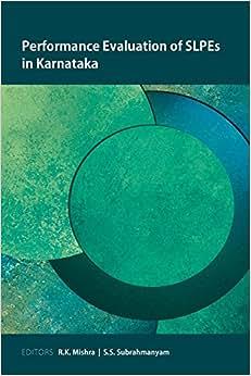 Download ebook Performance Evaluation of SLPEs in Karnataka