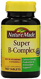 Nature Made Super B Complex Tablets, 140 Count