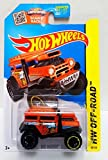 Hot Wheels, 2015 HW Off-Road, Bad Mudder 2 [Orange] Die-Cast Vehicle #88/250 by Mattel [並行輸入品]