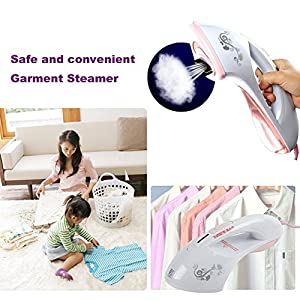 E-best® Mini Handheld Professional Sterilized Clothes Steamer;sofa Textile Steam Cleaner;carpet Ironing Steamer;bedding Irons Steamer;fabric Steamer;ironing Garment Steamer;little Travel Garments Steamer