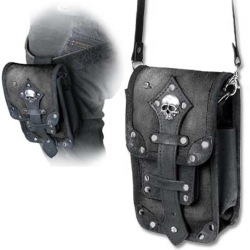 Alchemy Empire: Steampunk Empire 'Aviator' Leather Pouch