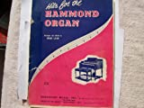 Hits for the Hammond Organ