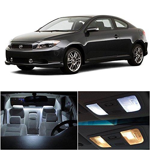 Scion Tc 2005-2007 Xenon White Premium Led Interior Lights Package Kit (7 Pieces)