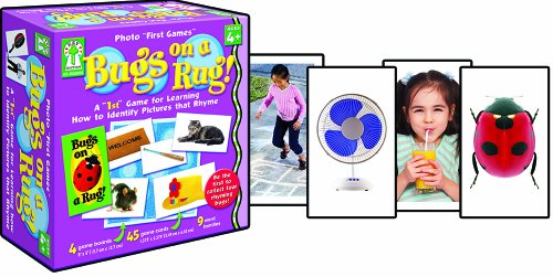 "Key Education Photo ""First Games"": Bugs on a Rug Educational Board Game"