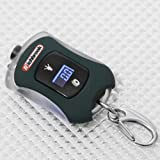 RICHBROOK DIGITAL TYRE PRESSURE GAUGE/LED TORCH KEYRING CHEX