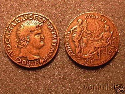 (DD R 28) Nero Sestertius COPY