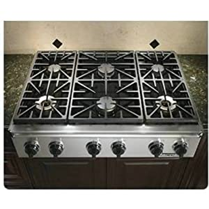 Dacor Countertop Stove : Amazon.com: Dacor Epicure Series 36 inch Stainless Steel Gas Cooktop ...