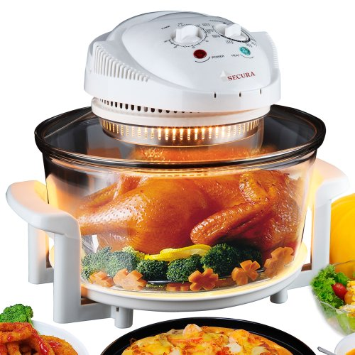 Secura Turbo Countertop Convection Cooking Toaster Oven 787Mh