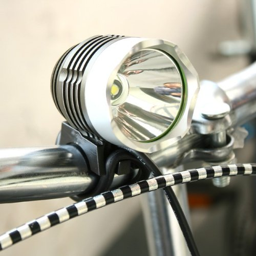 CREE XML XM-L T6 LED Bike Bicycle Light HeadLight HeadLamp 1200LM Consumption: 9W