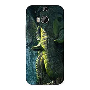 Delighted Rock Ganesha Back Case Cover for HTC One M8