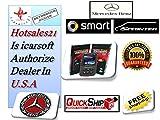 SMART CAR SPRINTER VAN and MERCEDES-BENZ OBD2 DIAGNOSTIC SCANNER TOOL TEST RESET ERASE ABS SRS FAULT CODES - iCARSOFT i980