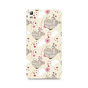Ebby Heart is a Machine Premium Printed Case For Lenovo A7000
