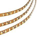 LEDwholesalers 16.4 Feet Double Density Flexible LED Light Strip with 600xSMD3528 12V, Warm White 3100K 2052WW-31K by LEDwholesalers