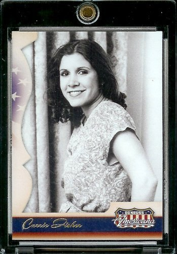2007 Donruss Americana Hobby (Foil) # 10 Carrie Fisher - Star Wars - Entertainment Trading Card