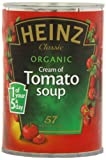 Heinz Organic Cream Of Tomato Soup 400 g (Pack of 6)